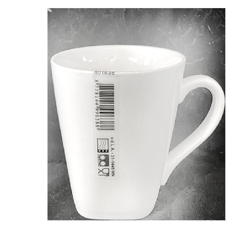 Mug soft-square - New Bone China